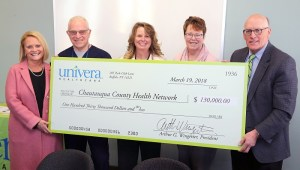 Univera Healthcare Commits $130,000 to Local Diabetic Retinal Eye Exam Project