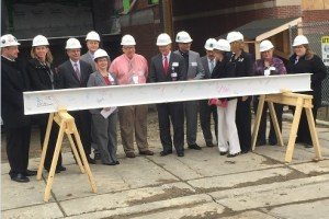 [LISTEN] UPMC Chautauqua WCA Places Final Steel Beam at Building Site