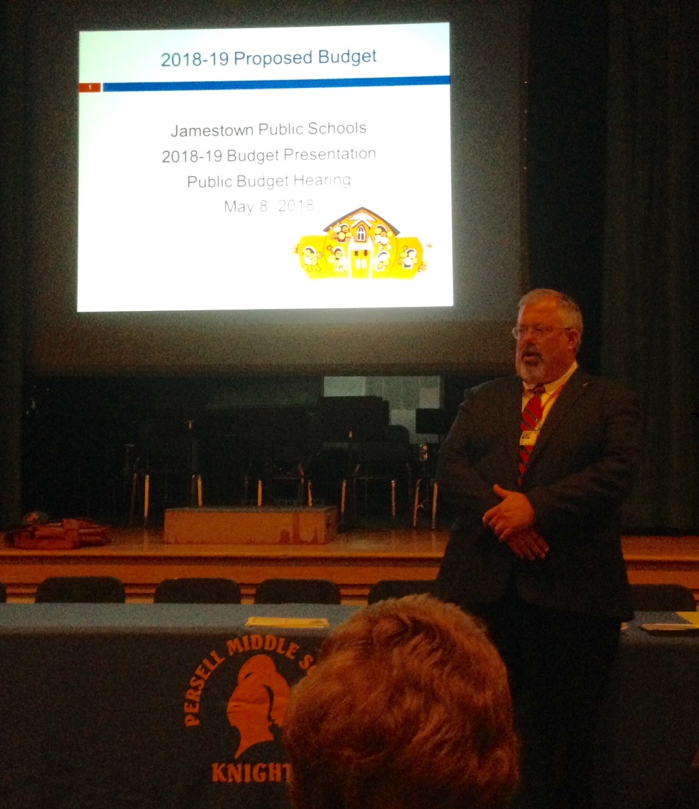 No Questions, Comments from Public During JPS School Budget