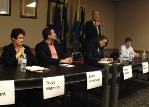 Democratic Candidates for Congress in Mayville Wednesday for LOWV Meet the Candidates Forum