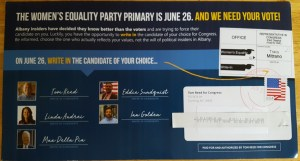 County Dem Chair Calls Out Reed Campaign for Creating Primary Day Confusion