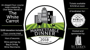 [LISTEN] Jamestown Public Market Hosts Market-to-Table Dinner on Sept. 17