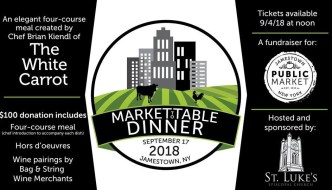 [LISTEN] Jamestown Public Market Hosts Market-to-Table Dinner on Sept. 17
