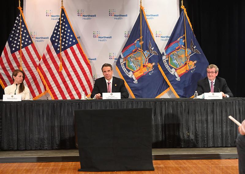 NY governor gives coronavirus update