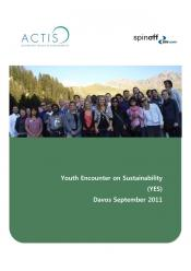 YES youth report about Davos published