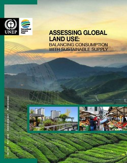 Assessing Global Land Use: Balancing Consumption with Sustainable Supply