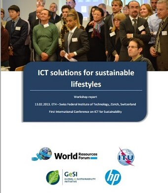 ICT solutions for sustainable lifestyles