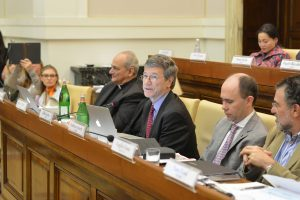 Jeffrey Sachs financing resource-efficient businesses vatican meeting