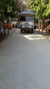 Concrete Road made with LC3 in India