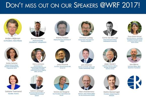 WRF 2017 Comes to Geneva Next Week