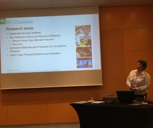Asja Mrotzek-Bloess at Raw Materials Summit FORAM