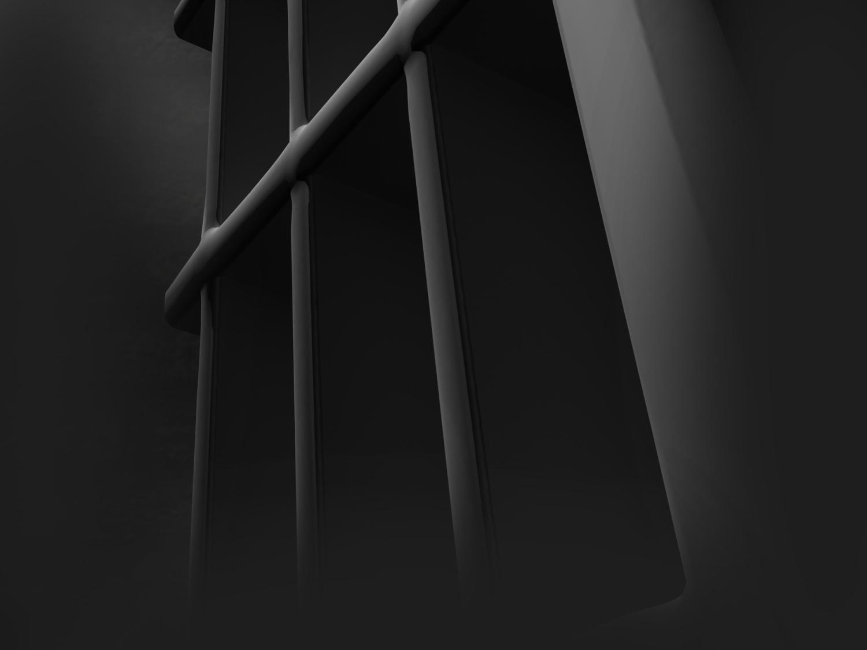prison jail arrest bars behind_238986