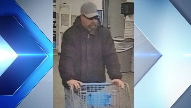 Police looking to ID man wanted for stealing from local