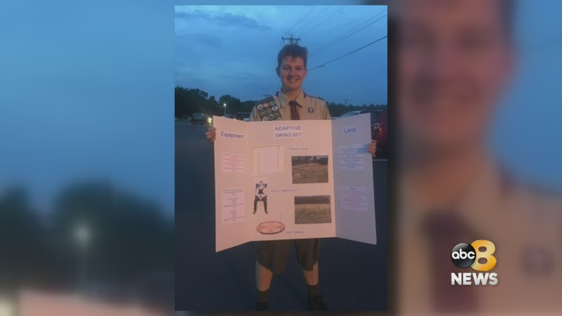 Local Boy Scout raising money to build adaptive swing set for special needs classmates