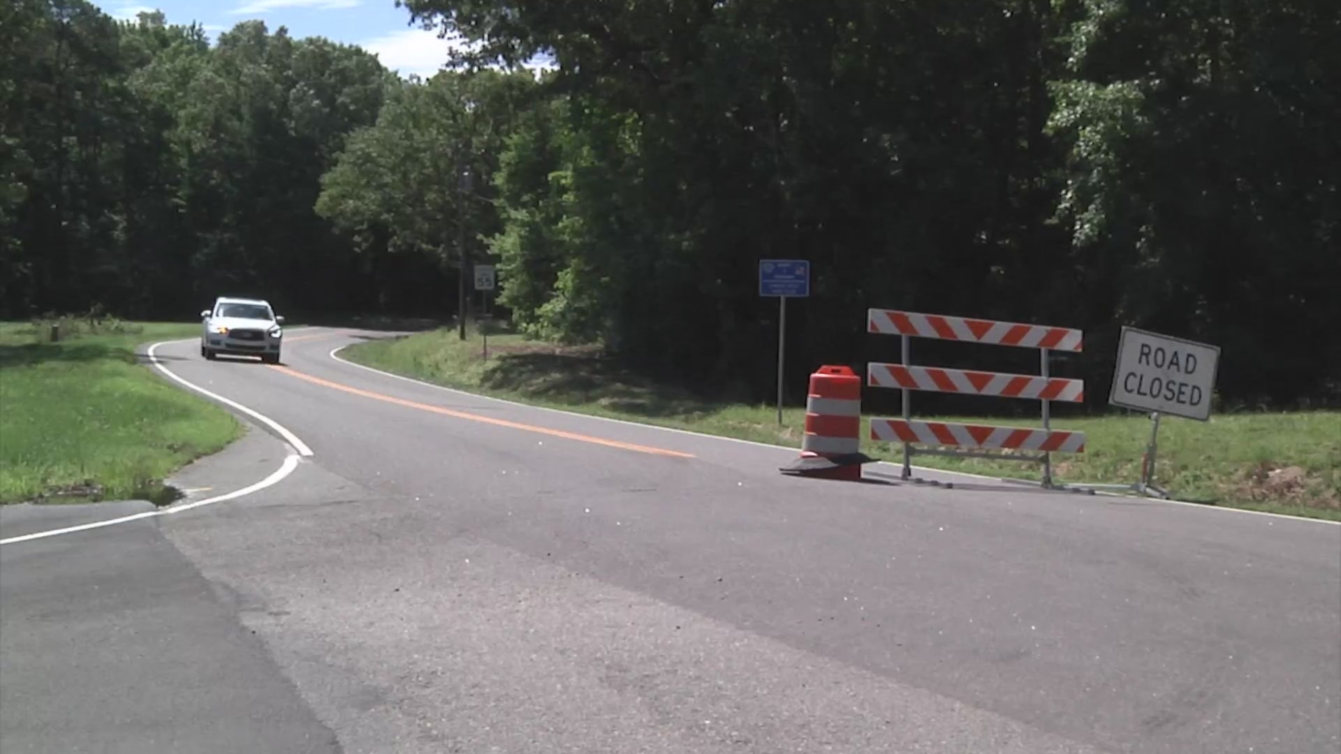 Portion of Route 5 closed 'until further notice' for repairs