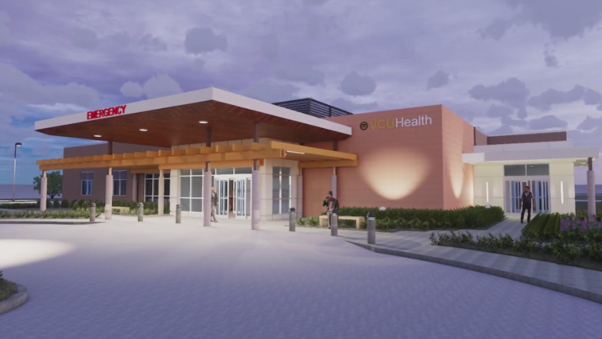 VCU breaks ground on trauma center in New Kent County