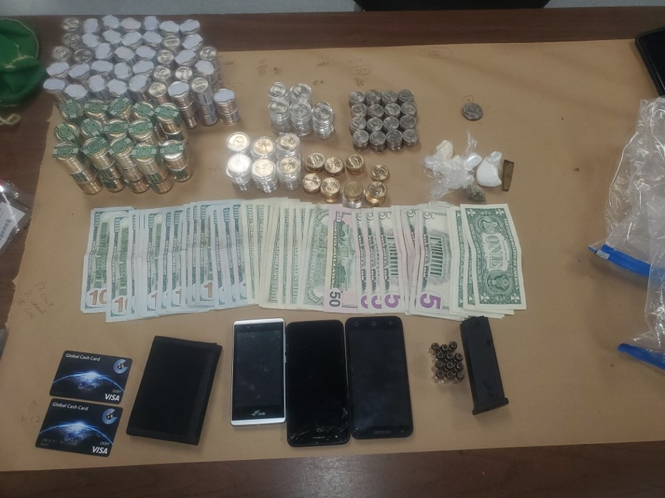 Richmond Police seize crack cocaine, cash and collectible
