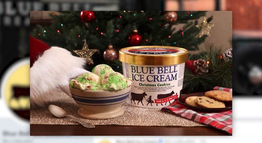 Christmas Cookie Recipes 2019.Blue Bell Announces Christmas Cookies Ice Cream Flavor 8news