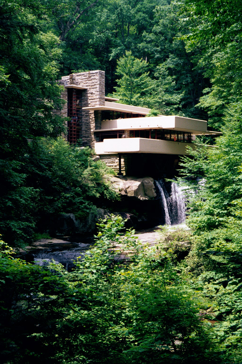 Frank Lloyd Wright Falling Water Wallpaper Large Photographs Of Fallingwater Kaufmann House Above