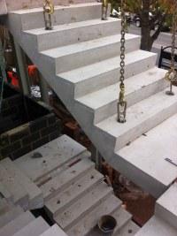 Concrete Stairs, Precast Stair Units, Concrete Landing Slab
