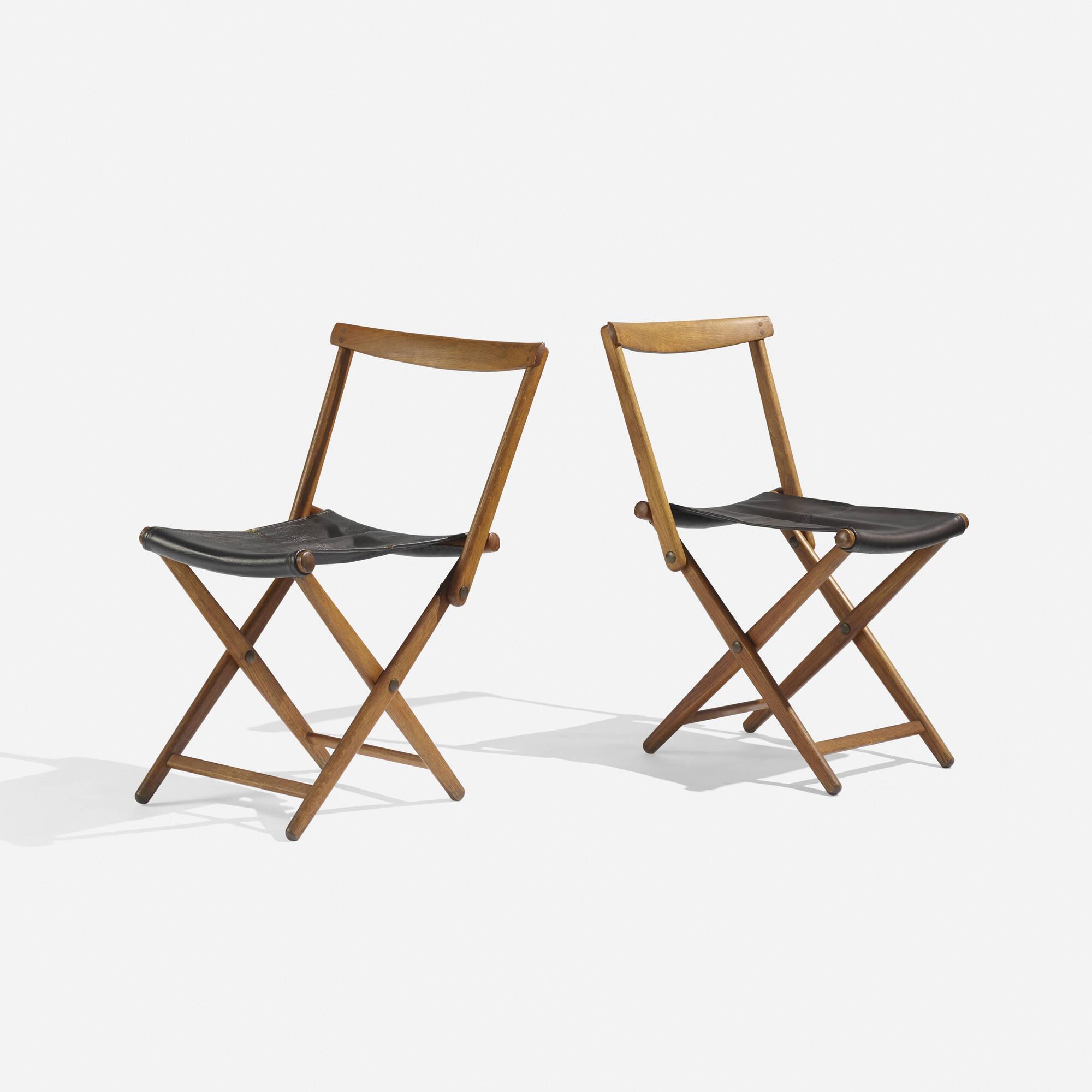 folding chair auction pool float 103 torsten johansson chairs pair
