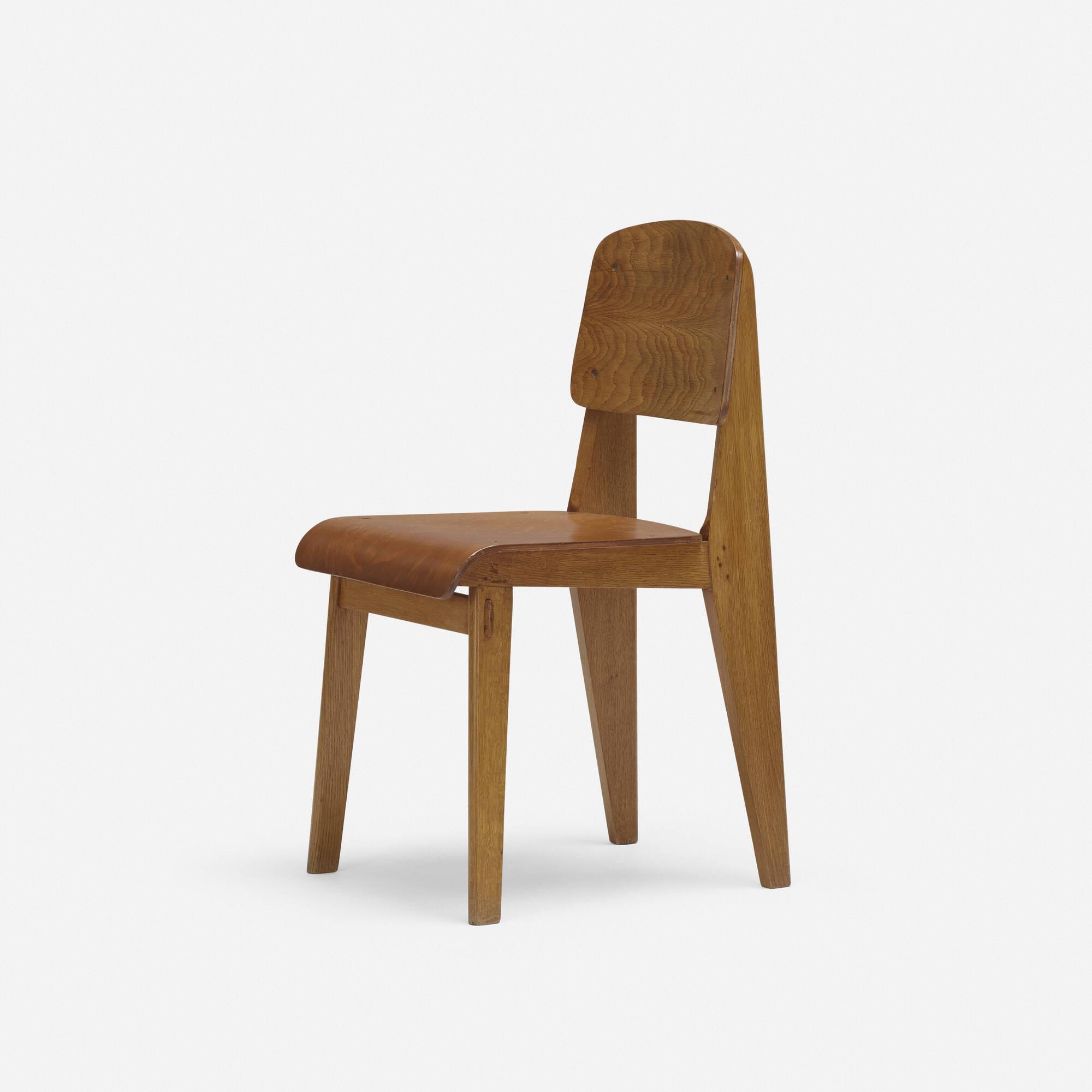 133 JEAN PROUV Standard chair no 305