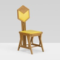 148: FRANK LLOYD WRIGHT, chair from the Imperial Hotel, Tokyo