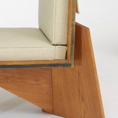 Frank Lloyd Wright Chairs Rattan Armchairs Australia 148 Pair Of Lounge From The Clarence Sondern House Kansas City 3 4