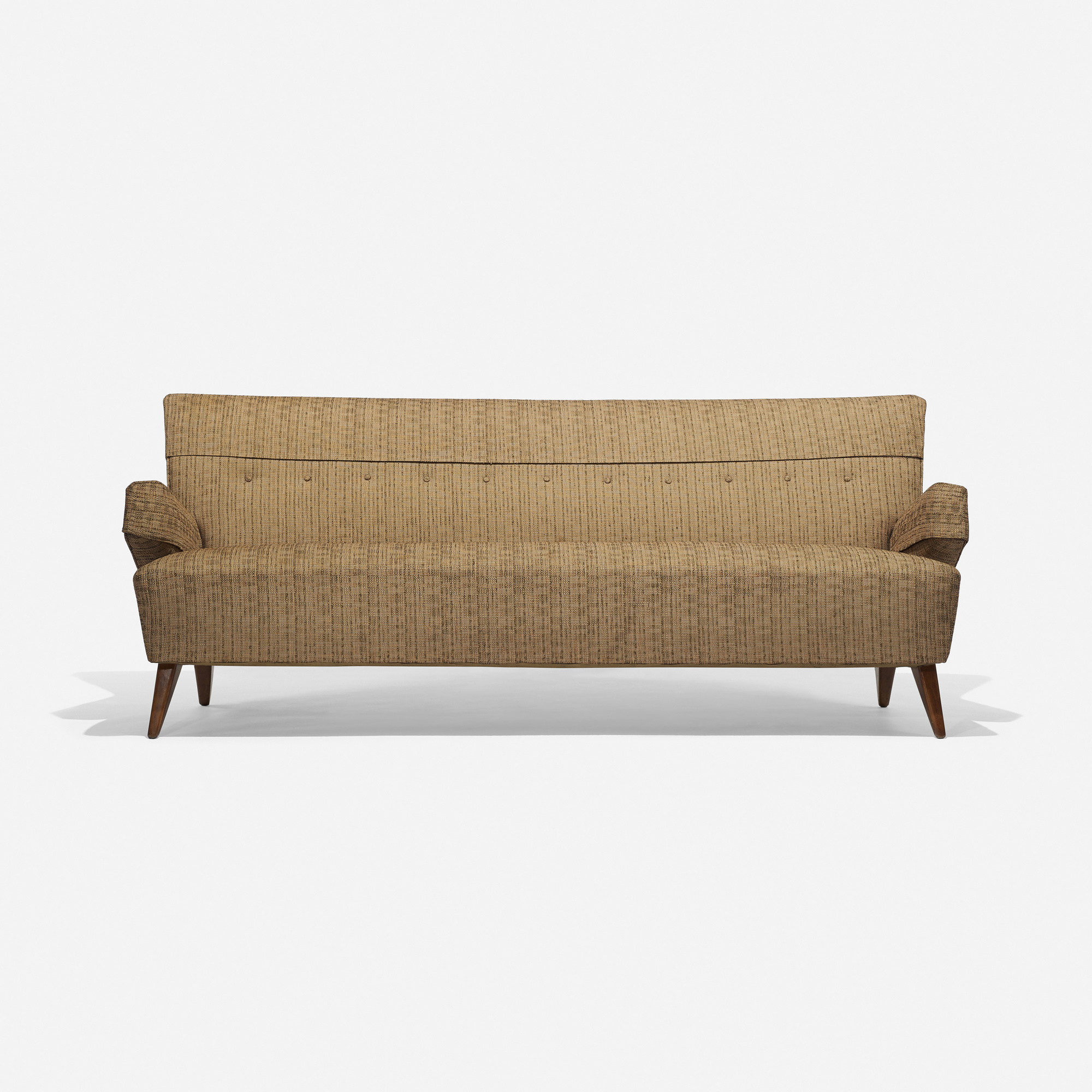 florence knoll sofa review mid century modern style leather auction finds of the week may 13th a