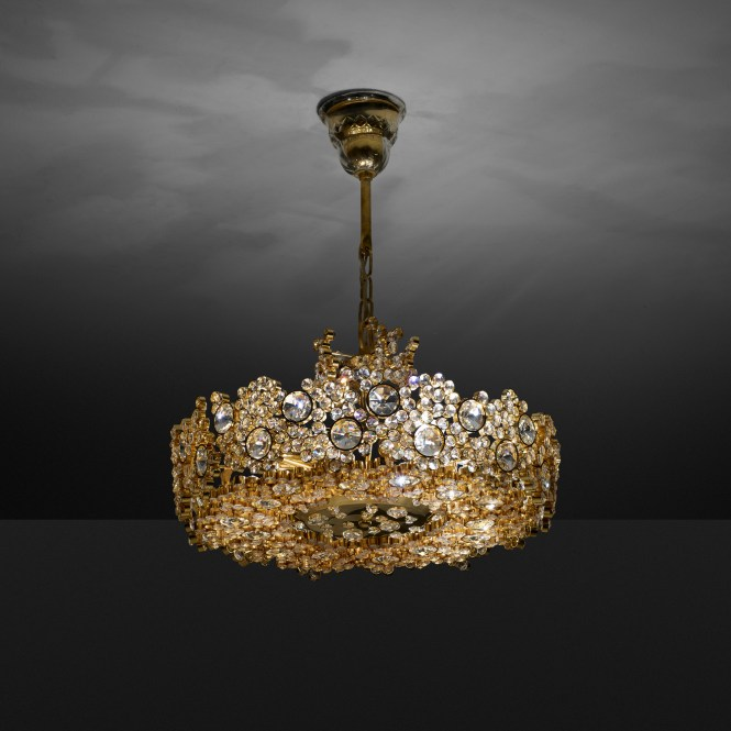 150 Palwa Chandelier 1 Of 2