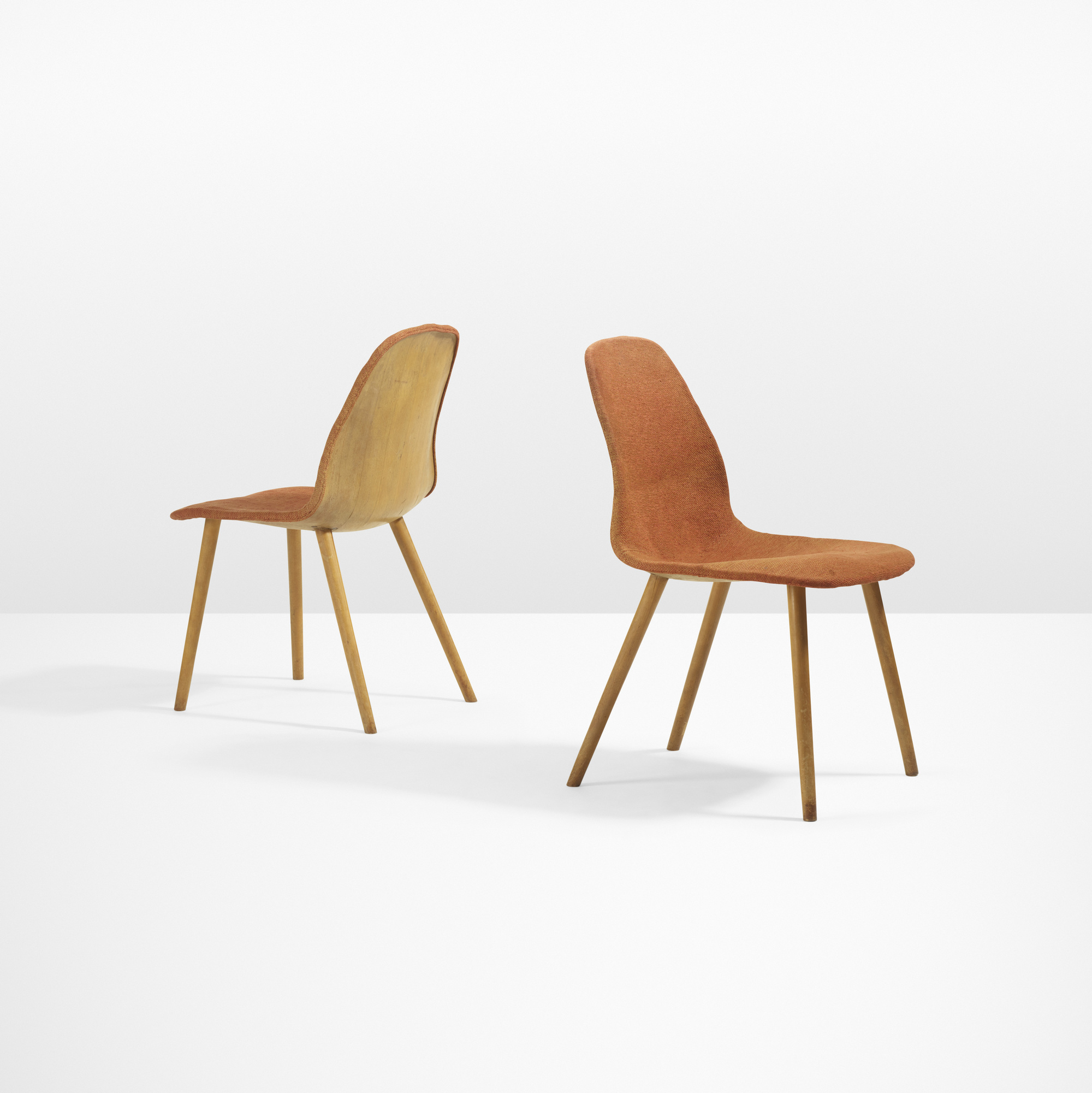 chair design competition 2017 what are pool chairs made out of 15 charles eames and eero saarinen rare pair
