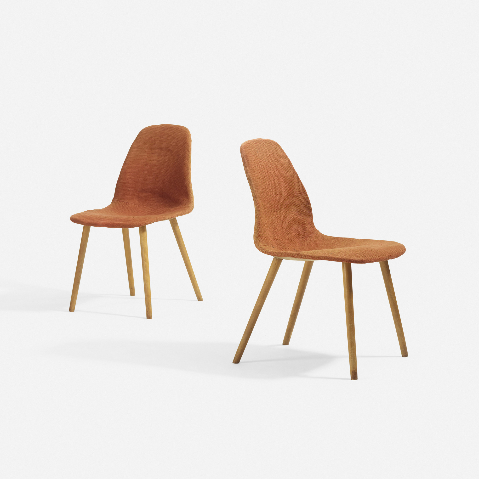 chair design competition 2017 two person carry 15 charles eames and eero saarinen rare pair of chairs