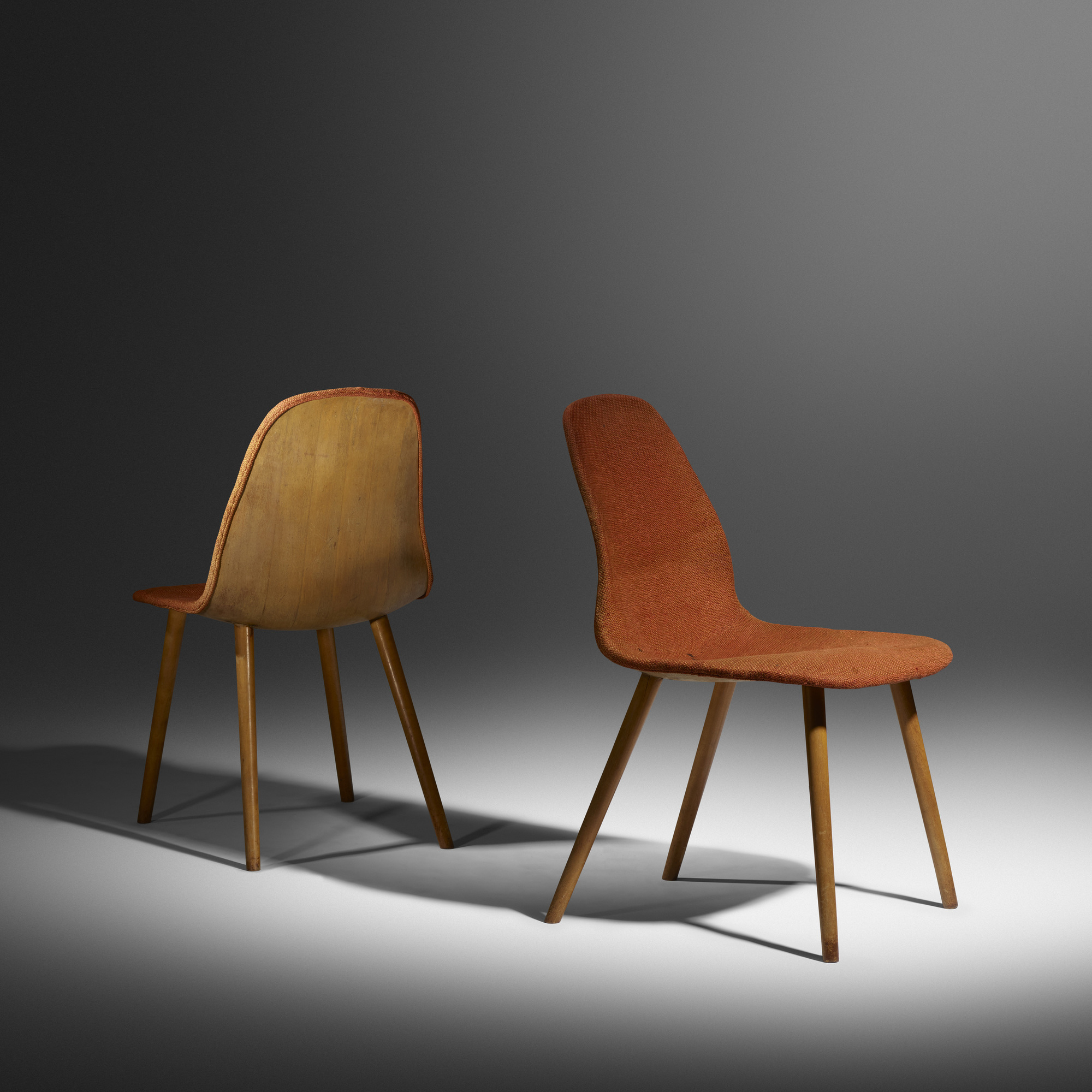 chair design competition 2017 heated vibrating cushions 15 charles eames and eero saarinen rare pair of chairs