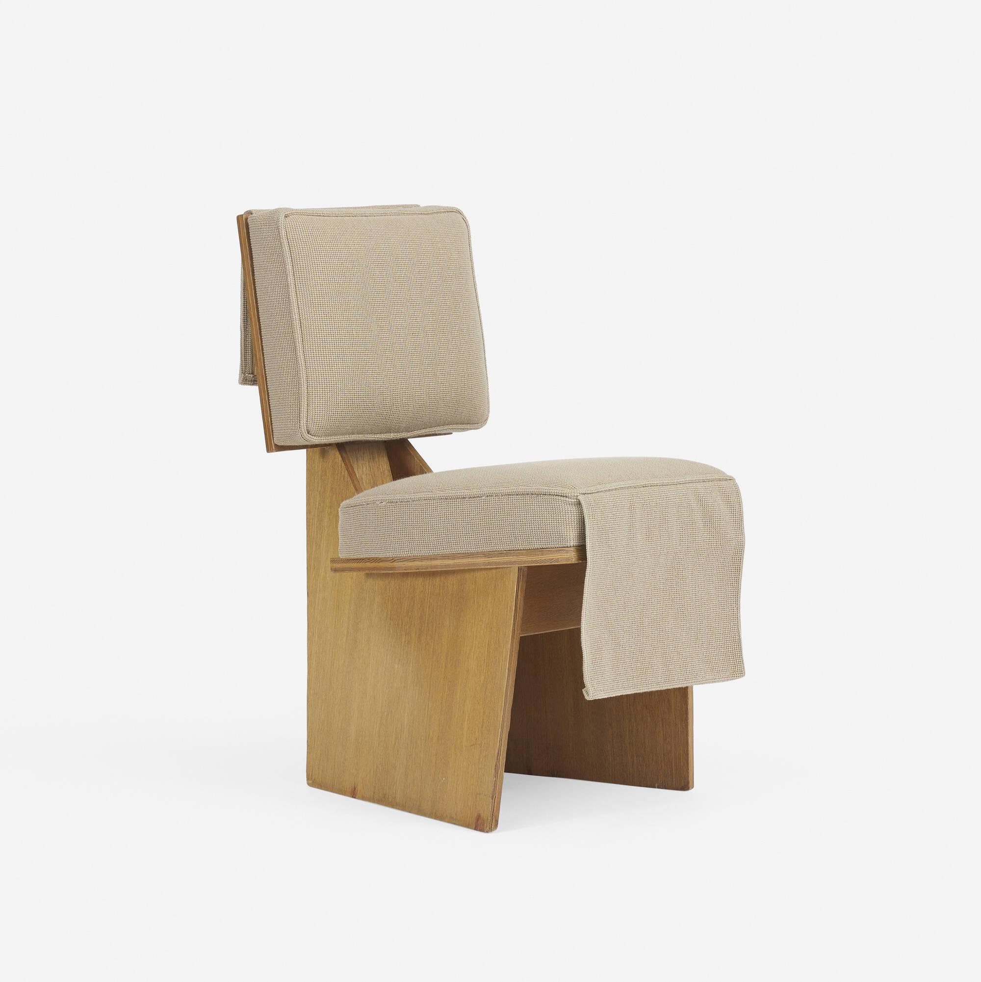162: FRANK LLOYD WRIGHT, Usonian lounge chair