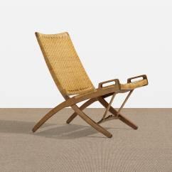 Folding Chair Auction Patio Dining Cushion Covers 164 Hans J Wegner