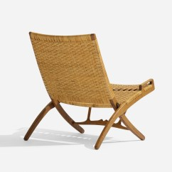 Folding Chair Auction Patio Table And Cover 164 Hans J Wegner