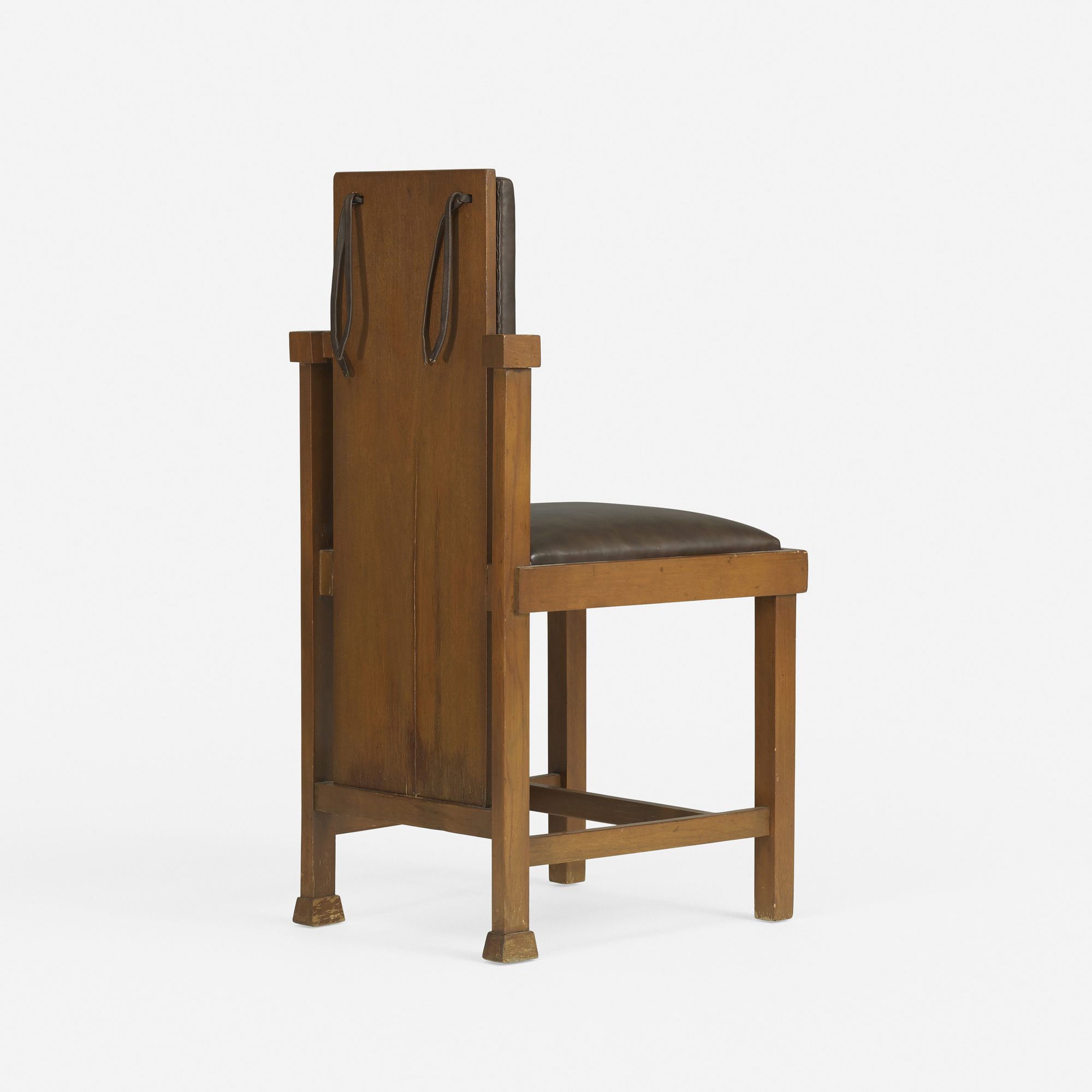168: FRANK LLOYD WRIGHT, chair from the Avery Coonley
