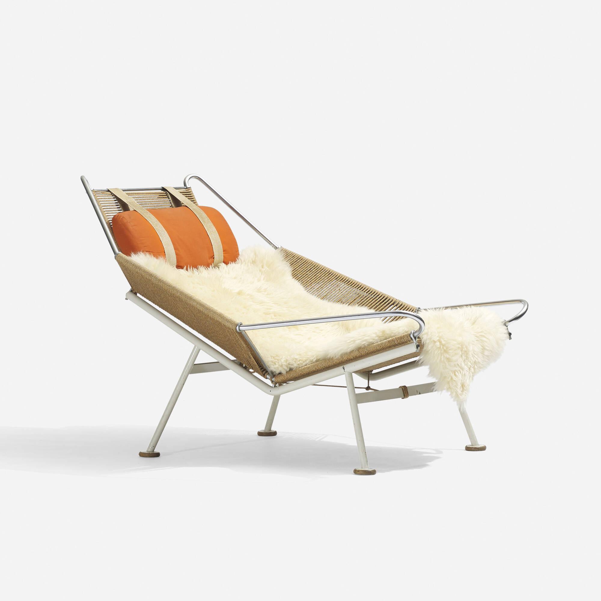 182: HANS J. WEGNER, Flag Halyard lounge chair