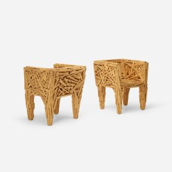 Campana Brothers Favela Chair Retro Stool 189 Fernando And Humberto Early Chairs Pair