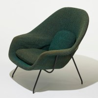 229: EERO SAARINEN, Womb chair and ottoman