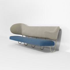 Wall Sofa How To Clean My Bed 23 Finn Juhl Custom Mounted From The Villa K