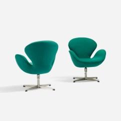 Arne Jacobsen Swan Chair Stool Online India 244 Chairs Pair Scandinavian Design 18 2 Of