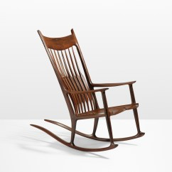 Sam Maloof Rocking Chair Plans Hal Taylor Bridal Covers For Sale Chaise Good Classic Carved