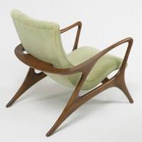 365: VLADIMIR KAGAN, Contour lounge chairs, pair