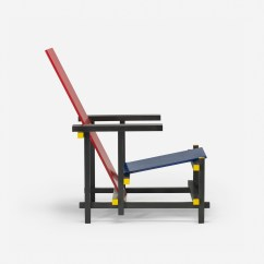 Red Blue Chair Swivel Visitors 380 Gerrit Rietveld