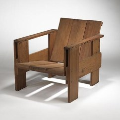 Gerrit Rietveld Crate Chair Bedroom Amart 393