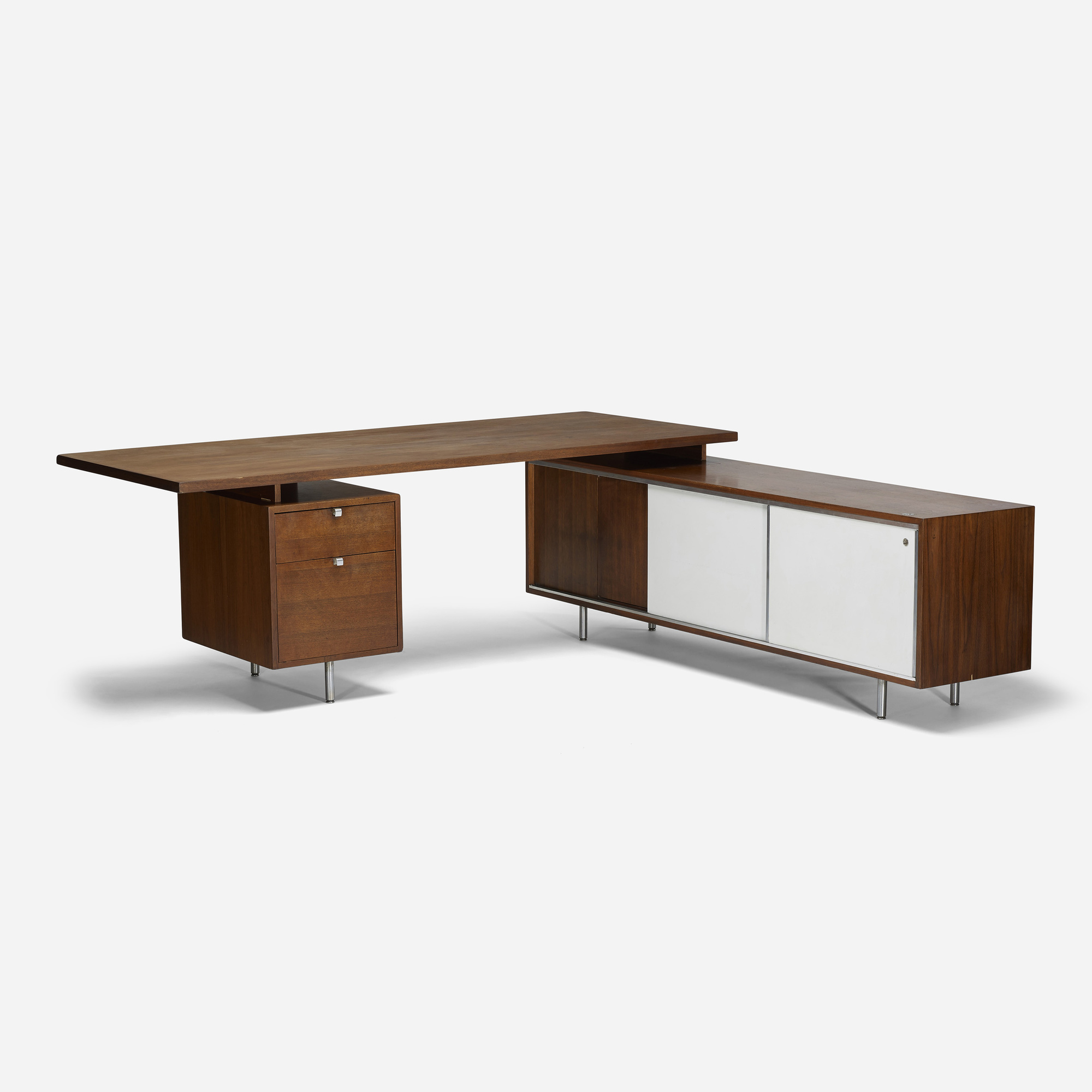 Executive Desk With Return  Hostgarcia