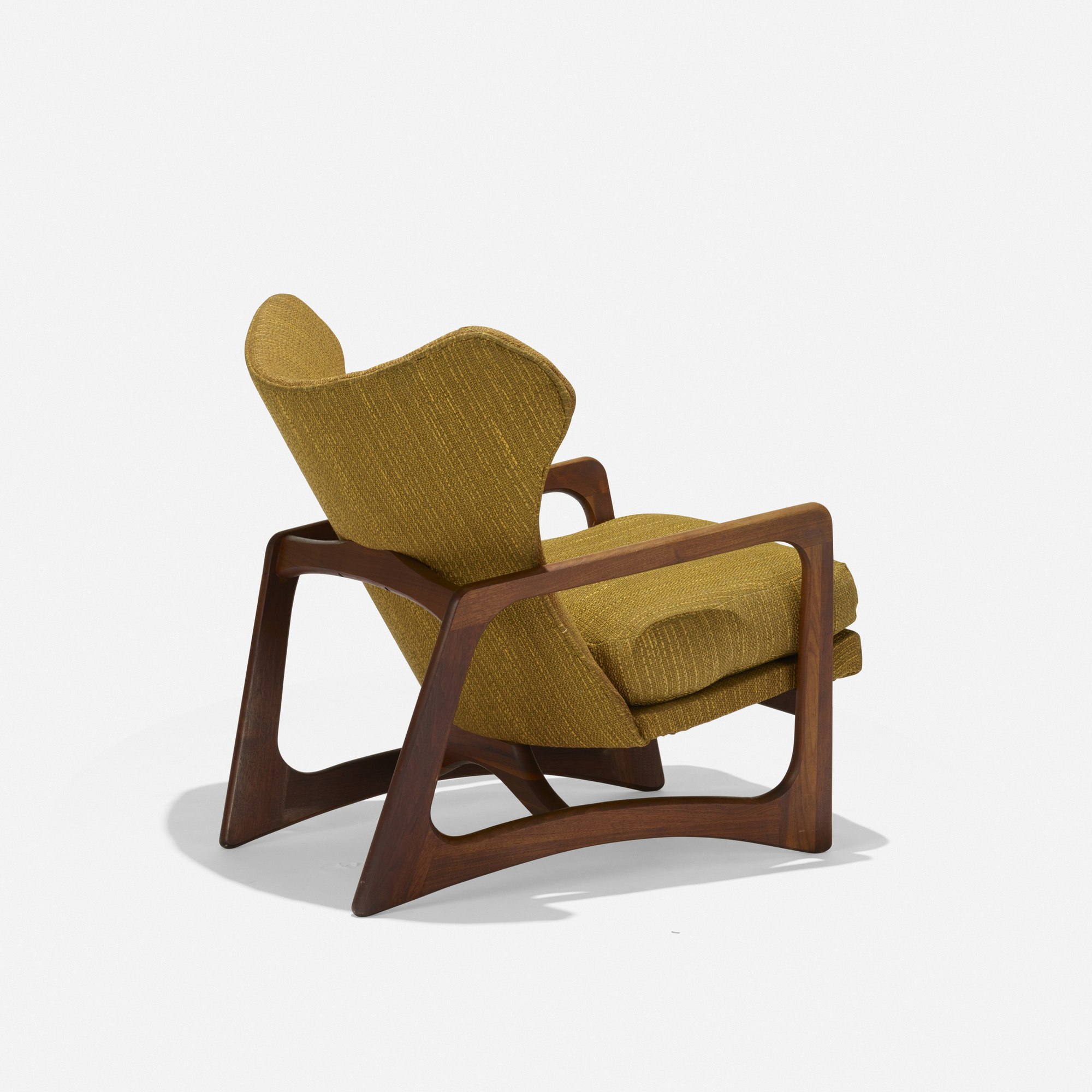 adrian pearsall lounge chair in chinese character 576 model 2466c american design 2 of 3
