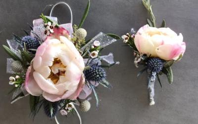 Corsages and Boutonnière