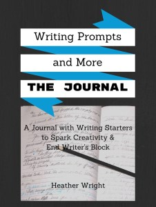 Writing Prompts and More journal cover for cropping